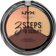 NYX PROFESSIONAL Makeup 3 Steps To Sculpt Medium