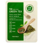 Tonymoly The Chok Chok Green Tea Watery Mask Sheet 20 g