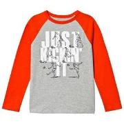 GAP Gap Long Sleeved T-shirt Light Heather Grey 10-11 Years
