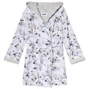 Molo Way Bath Robe Polar Bear Jersey 86/92 cm