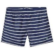 GANT Navy and White Breton Stripe Swimshorts 122-128cm (7-8 years)
