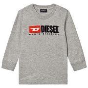 Diesel Division Long Sleeve Tee Grey 24 months