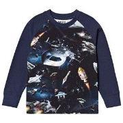 Molo Ramiz T-Shirt Space Traffic 122 cm (6-7 år)