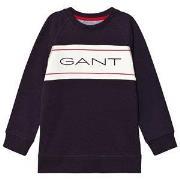 GANT Archive Sweatshirt Navy & White 122-128cm (7-8 years)