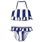 The BRAND Bow Bikini Blue Stripe 80/86 cm
